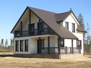 Производство и строительство каркасных домов. Полоцк - Изображение #1, Объявление #1685700