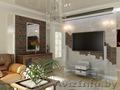 Дизайн-проект квартир,  коттеджей